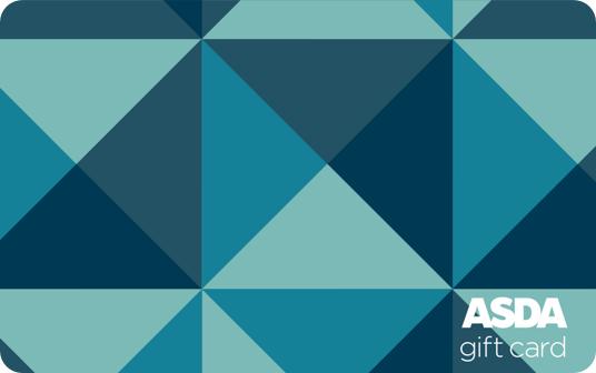 Asda Geometric Triangles Card card image