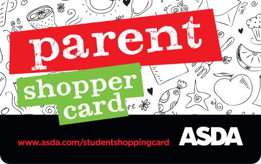 Asda Student Parent Shopper Card card image