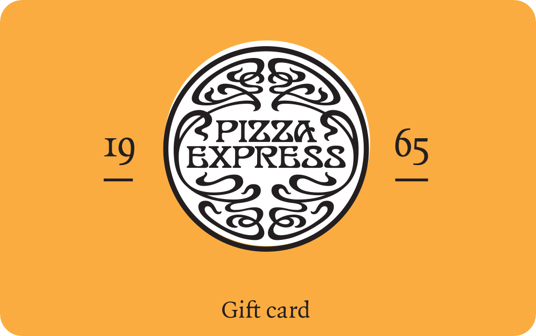 PizzaExpress Gift Card card image