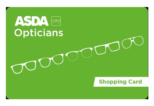 Asda Opticians Shopping Card card image