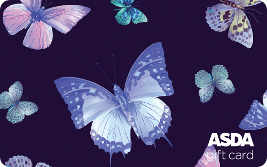 Asda Butterfly Gift Card card image
