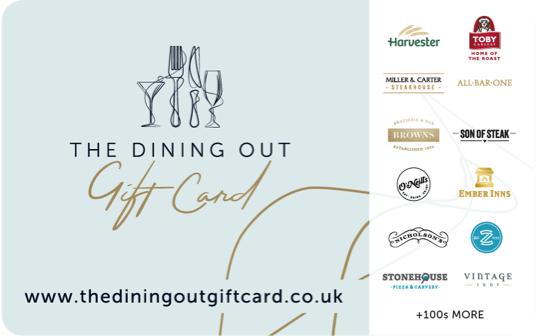 The Dining Out Gift Card card image