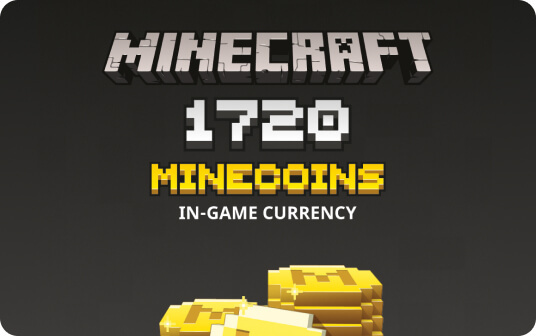 Minecraft: Minecoins Pack: 1720 Coins | Multiplatform card image