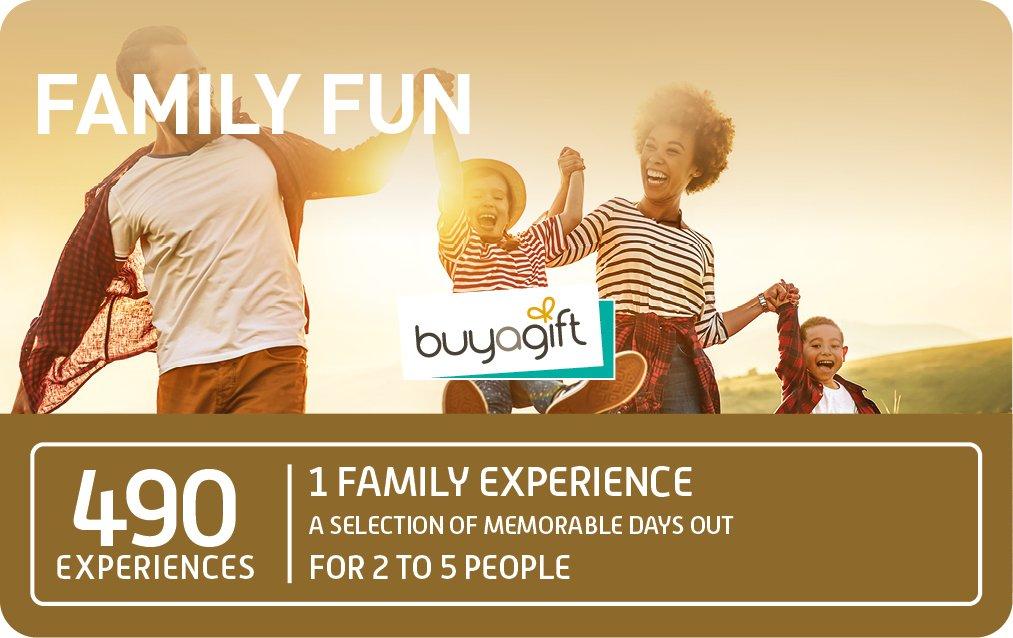 Buyagift Family Fun £49.99 card image