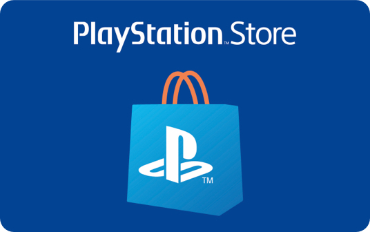 Sony Playstation Wallet Top Up Gift Card £10 card image