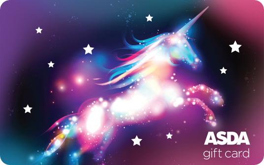 Asda Unicorn Gift Card card image