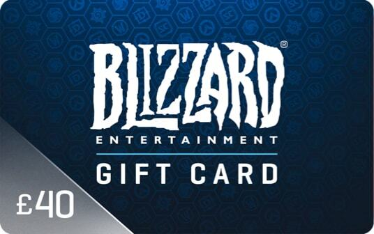 Blizzard Gift Card £40 card image