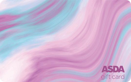 Asda Marble Swirl Card card image