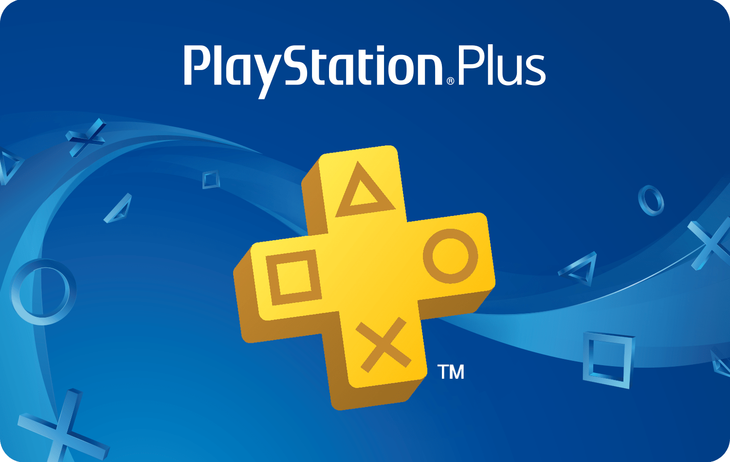 Sony PlayStation® Plus 12-month Subscription card image