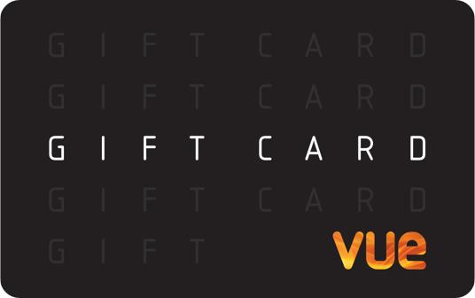 Vue Cinemas card image