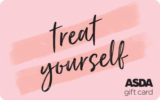 Asda Treat Yourself Gift Card card image