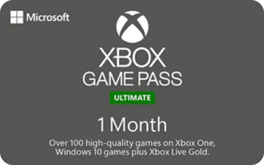 Xbox Game Pass Ultimate 1 Month eGift card image