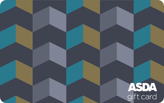 Asda Geometric Pattern Gift Card card image