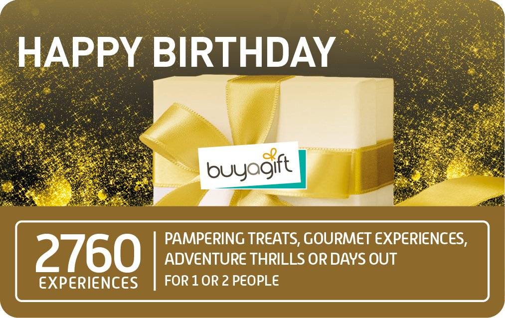 Buyagift Happy Birthday £49.99 card image
