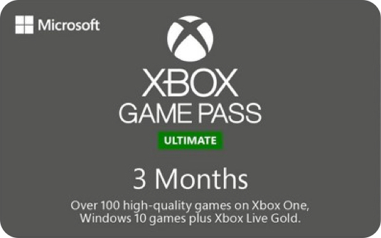 Xbox Game Pass Ultimate 3 Month eGift card image