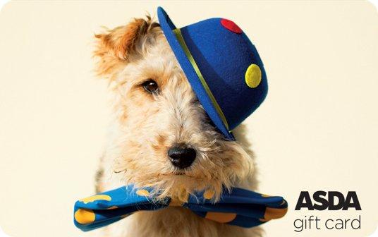 Asda Party Dog Gift Card card image