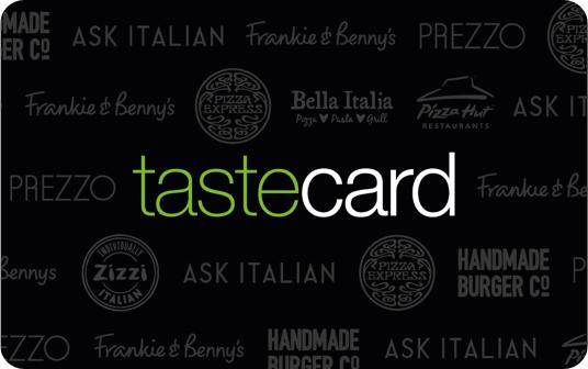 Tastecard image