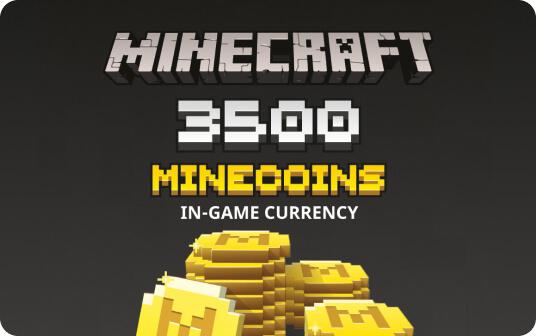 Minecraft: Minecoins Pack: 3500 Coins | Multiplatform card image