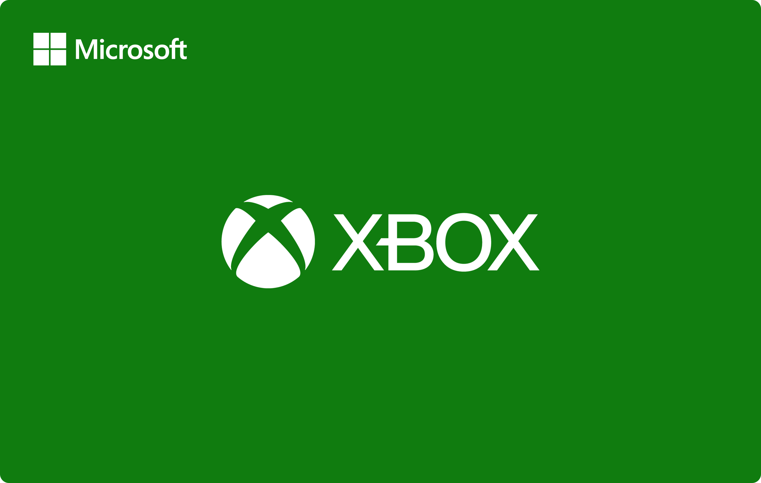 Xbox Live £20 gift card card image